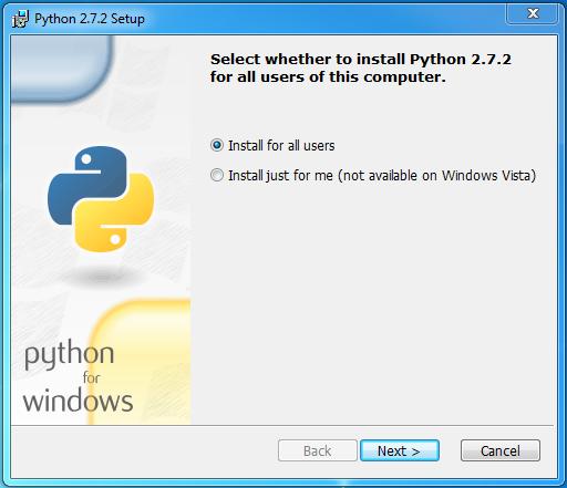 python 2.7.2