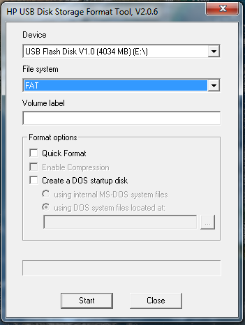 HP USB Disk Storage Format Tool Install Guide for Windows ...