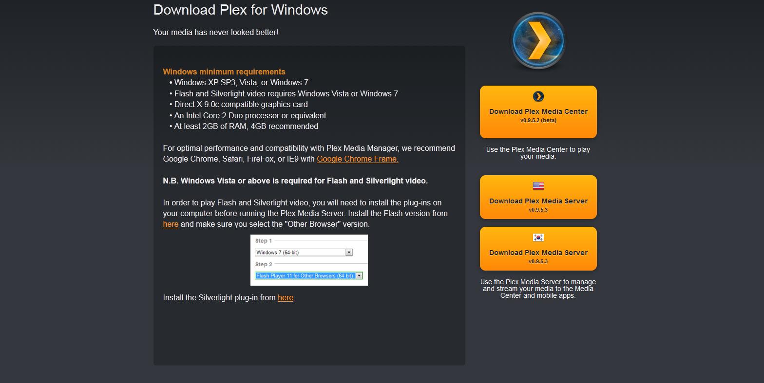 Plex Media Server Install Guide for Windows - HTPCBuild com
